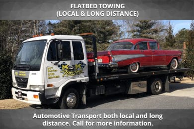 Flatbed Towing (Local & Long Distance)