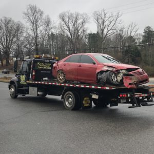 dawsonville wrecker services from K&K towing and wrecker service