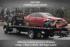 24 Hour Towing & Recovery Services, 7 days a week, 365 days a year in Dawsonville, GA