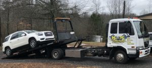flatbed towing auto transport services from K&K towing and wrecker