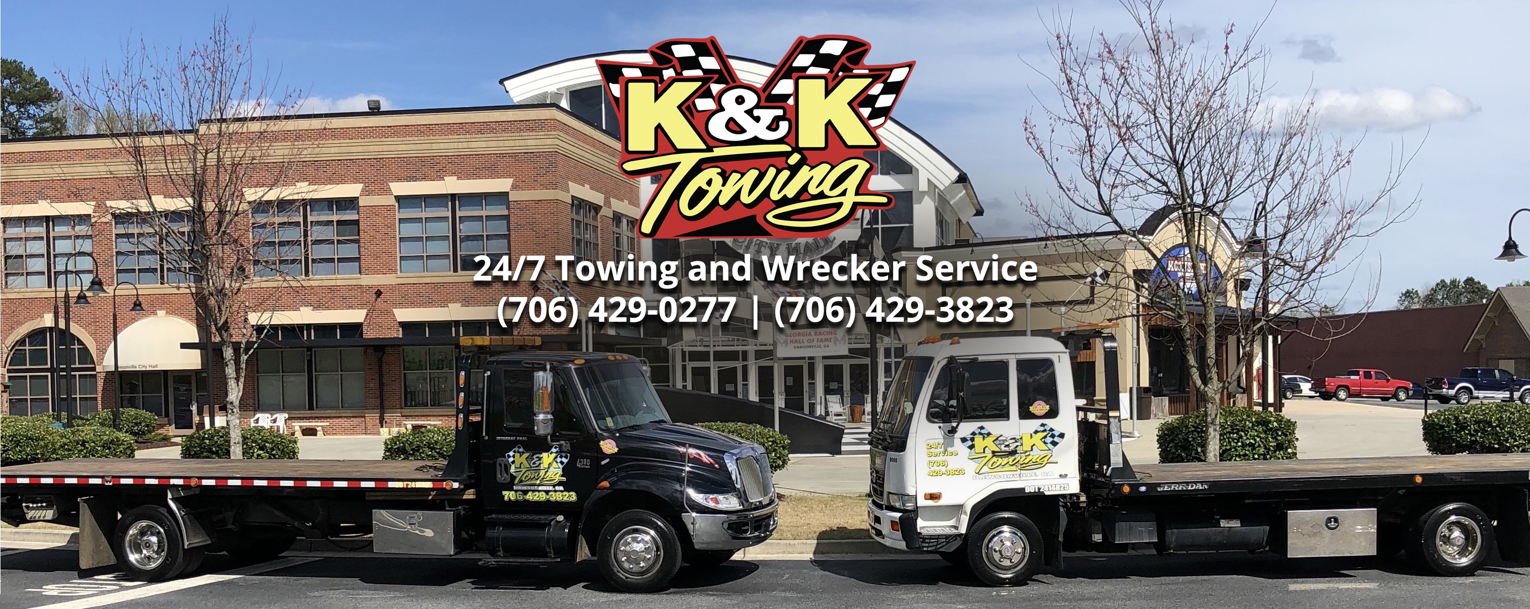 Dawsonville Towing & Wrecker Services provided by K&K Towing and Wrecker.